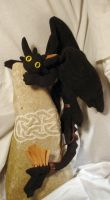 Toothless with Saddle Tail Fin by stephanielynn