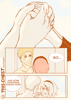 NaruSaku: This Chest pg1 by Kirabook
