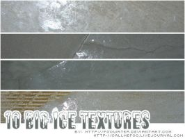 10 big Ice Textures by FooWater