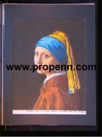 Vermeer's Girl With Pearl Earring by Stoney by ProdigiousPenn