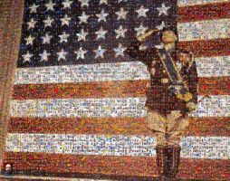 Patton Photomosaic by DolfD
