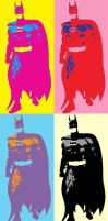 Batman 4 Panel Pop Art 4.0 by TheGreatDevin