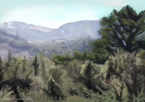 Painted View by Zitora