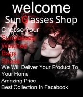 SunglassesShop Welcome Picture by IslamxAhmed