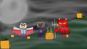 Halloween Wallpaper by RobzGraphics