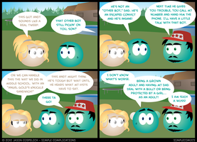 SC372 - Aquarius Thanksgiving 12 by simpleCOMICS