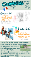 Commissions infos (French) by Shingo-Hayasa