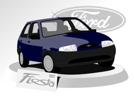 Ford Fiesta by petrsimcik