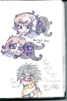 THE Bad characters by Kittychan2005