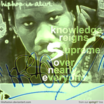"krs-one: ""hip hop is alive."" by hhzfuzion"