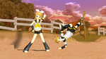 MMD - Rin and Len Birthday 2011 by emmystar