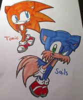 Tonic and Sails by KittyBat1234