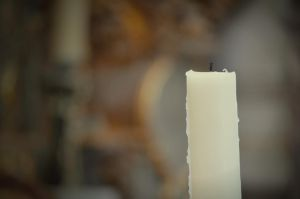 candle without flame by fanybunny