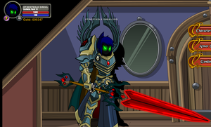 My new insidious look on AQW by InsidiouslyJake