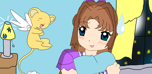 Crystal and Kero (like your mother) by Sailormoon003
