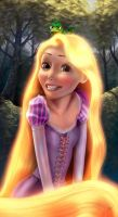 Rapunzel - Gleam and Glow by BoFeng