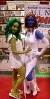 SFX-Fan Expo Cosplay 2009 #22 (She-Hulk+Mystique) by Neville6000