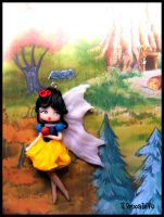 Snow White Fairy collection by BrucaliffoBijoux