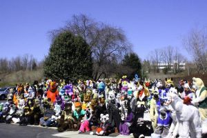 Furthemore 1 group fursuit shot by Ffex