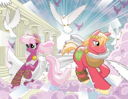 My Little Pony #9 Larry's/Jetpack Covers by TonyFleecs