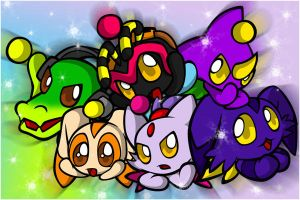 Chao - Set 2 by sonicolas