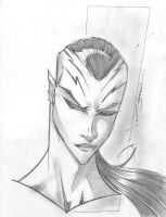 Caiera Sketch Shot by StevenSanchez