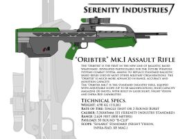 Oribter Mk.I Assault Rifle by AdmiralSerenity