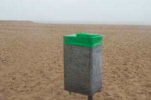 Green on the beach by Pethack