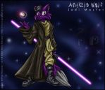 Angelo Wolf - Jedi Pic 2 by violetomega