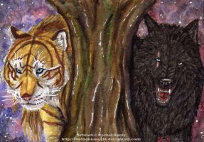 Double ACEO - Jay and Dallas by 8TwilightAngel8