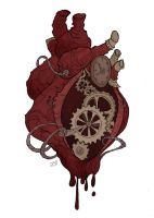 Gears of my Heart by IrenHorrors