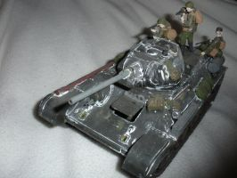 T-34/76 late war tank model by Super6-4