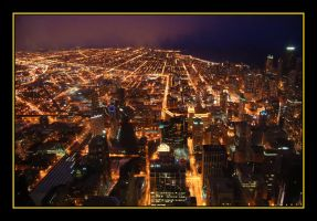Chicago by night II by nutnic