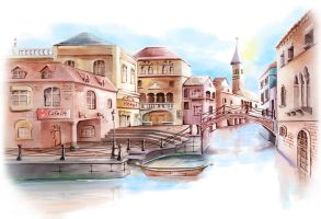 European Background by CARFillustration