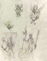 Griphonman sketches by Random223