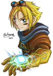 Ezreal LoL Colored by ClowKusanagi