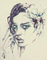 consolation-pen and ink photographed by Symyn240