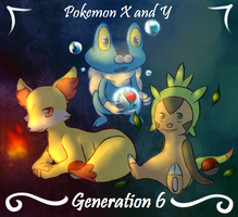 Generation 6 Starters by GameMaster15