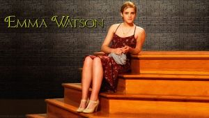 Emma Watson Wallflower Stairs II v2 by Dave-Daring
