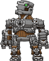 Warforged (Dungeons n' Dragons 3.5) by Hologramzx
