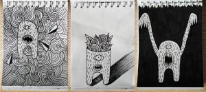 Sketchbook drawings by olivera-miletic