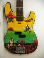 The Les Claypool Bass by KrazyKernal