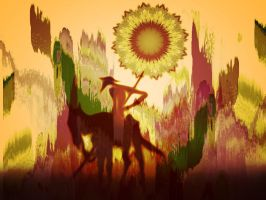 The ghost of Don Quixote by hallbe