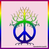 Peace Tree Tattoo Design by sparx222
