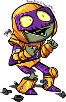 PVZHeroes - Rustbolt by DevianJp824
