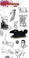 Sketchdump #5 by NorthernRaven