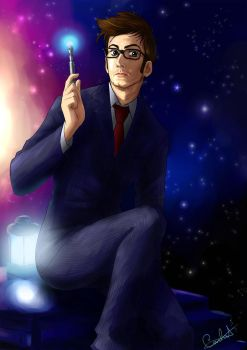 Tenth Doctor by MistressAinley