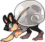 Snailgriff by griffsnuff