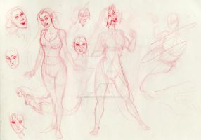 Lively 2007 Rough Sketches 008 by BlackUniGryphon