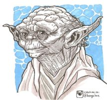 Yoda Of Dagobah by BongzBerry